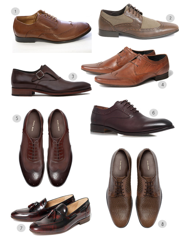 Brown Wedding Shoes Groom
