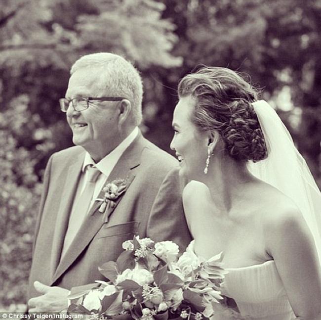 chrissy-teigen-wedding-hair-instagram
