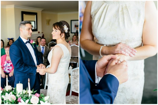 civil ceremony ring exchange