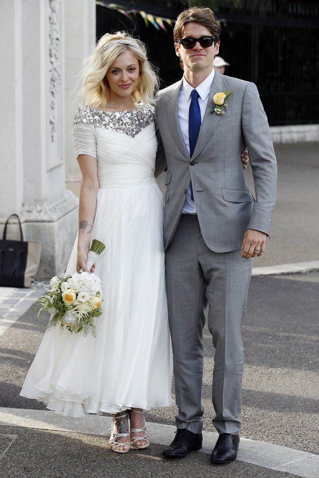 Sightings at The Wedding of Fearne Cotton And Jesse Wood - JULY 04, 2014