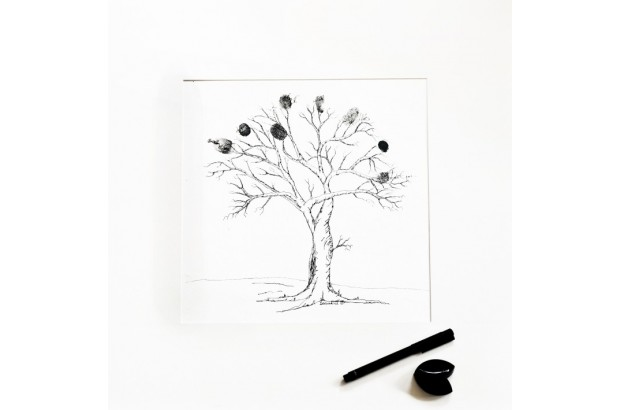 fingerprint-tree-wedding
