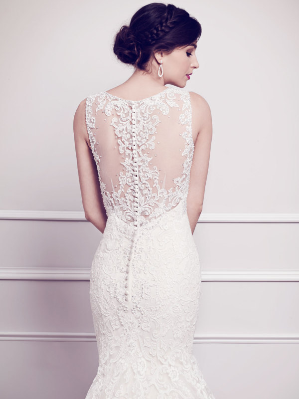 The dreamiest wedding dresses from kenneth winston 2015 for Kenneth winston wedding dresses