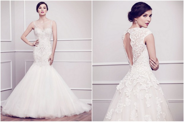The Dreamiest Wedding Dresses From Kenneth Winston 2015
