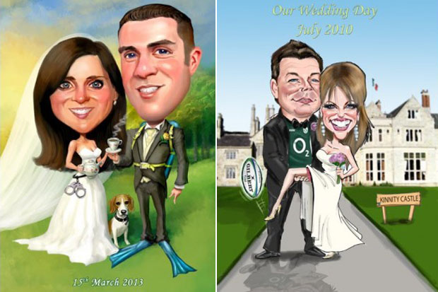 live-caricatures-wedding