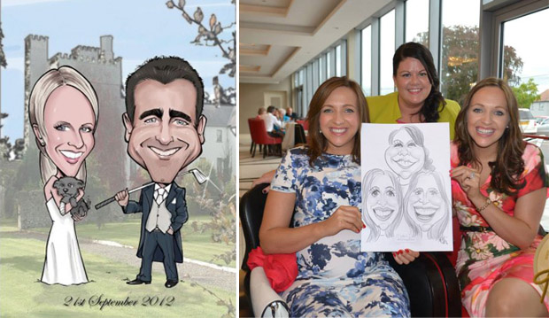 live-caricatures-weddings