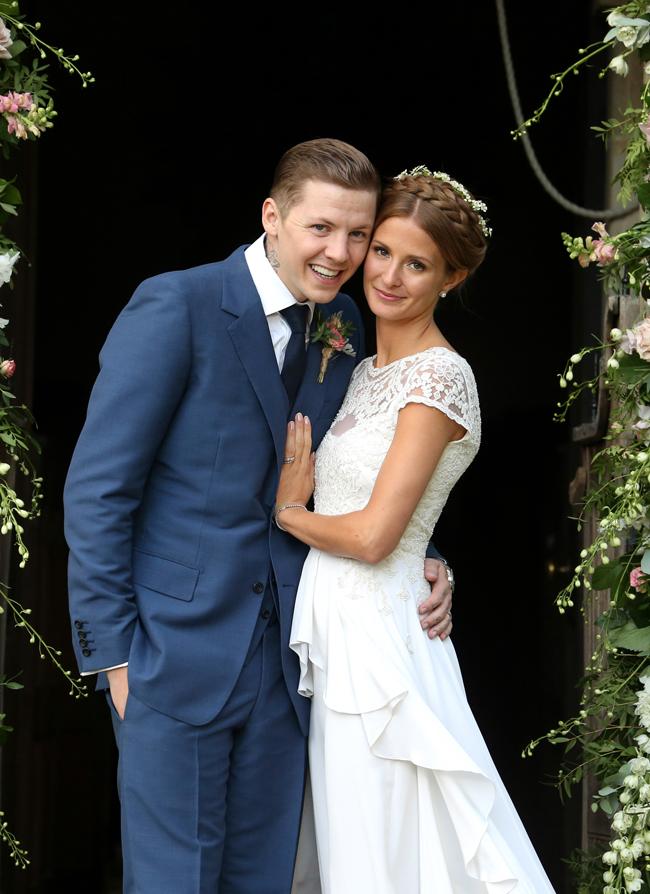 Professor Green Marries Millie Mackintosh