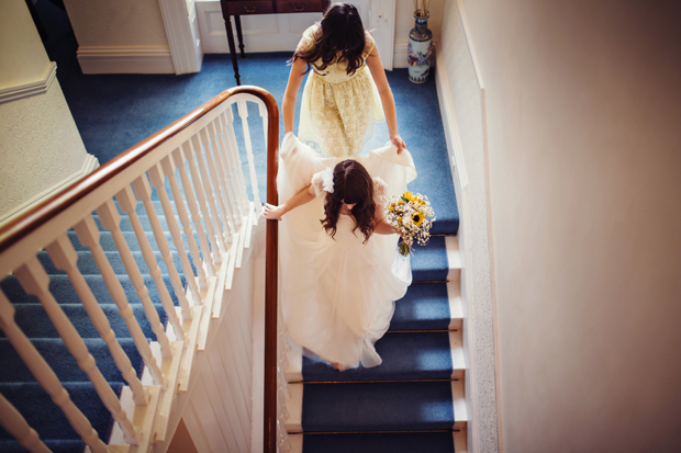 pam-paul-wedding-trudder-lodge-stairs