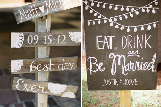 personalised-wedding-signs