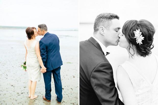 beach side wedding ireland