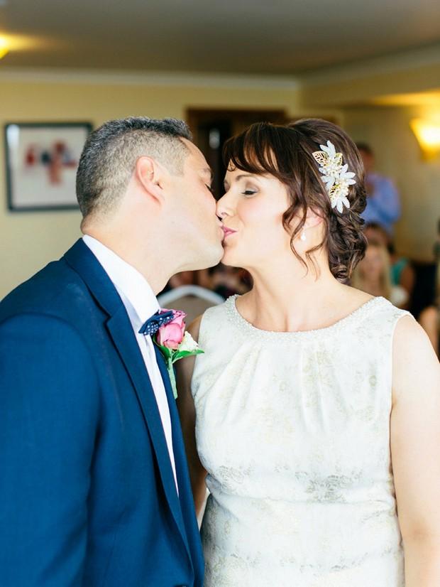 kiss the bride ceremony