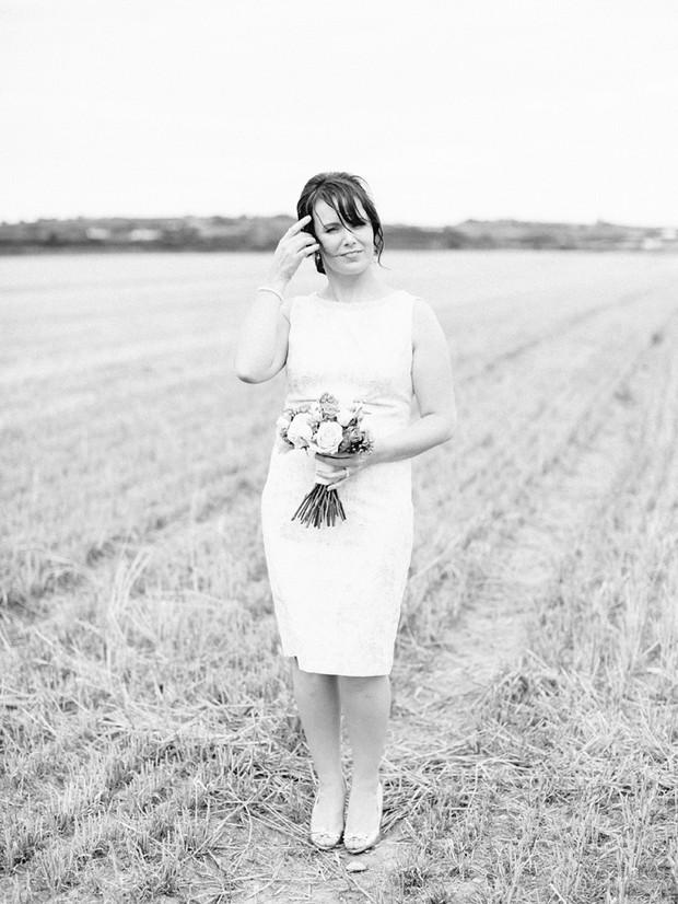 bride short wedding dress style