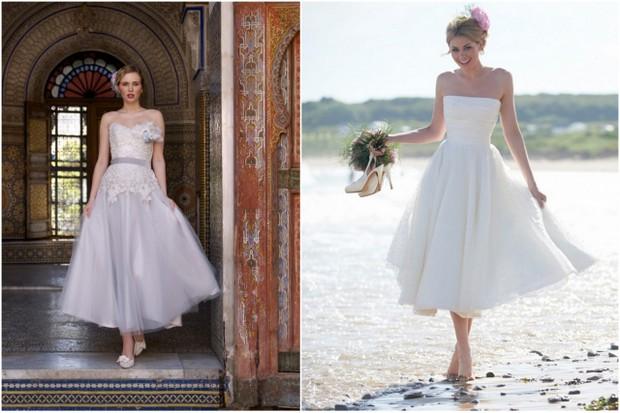 tea length wedding dresses ireland