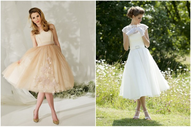 tea length wedding dress lyn ashworth