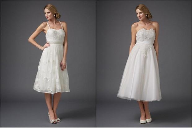 tea length wedding dress high street ireland