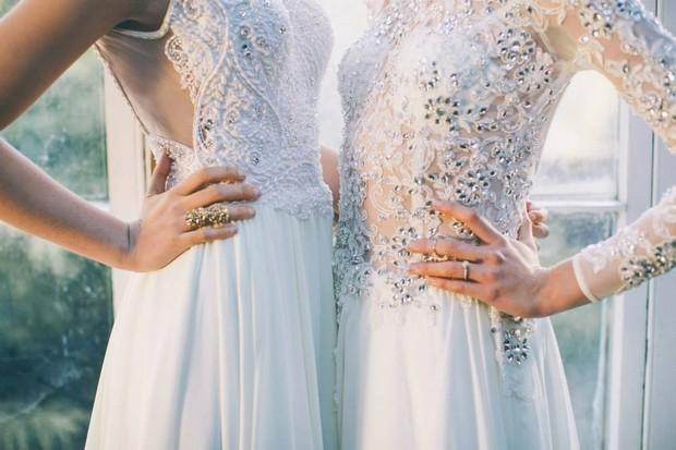 Brides on the Edge - Introducing Maria Senvo Wedding Dresses 2015 ...