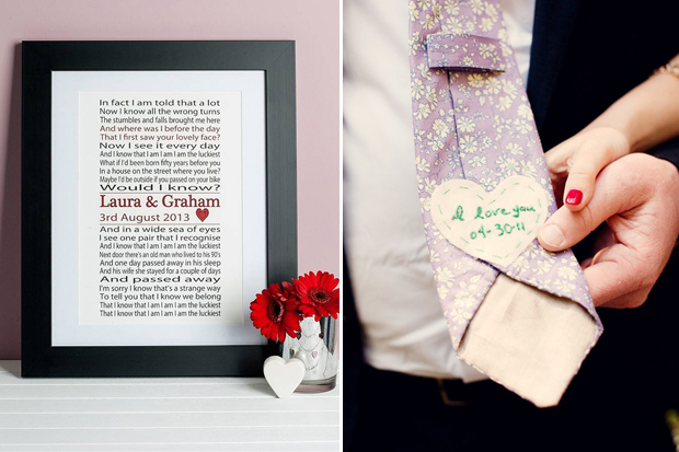 Wedding Gift Ideas For A Groom : 10 Thoughtful Gift Ideas for Brides & Grooms weddingsonline