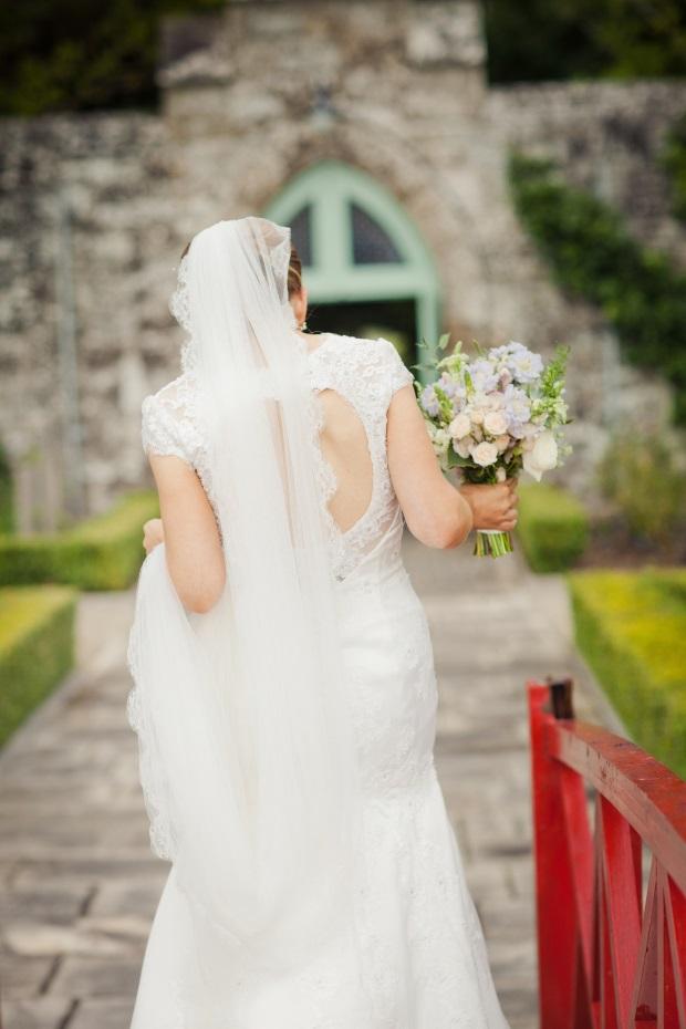 Lough Rynn Castle Wedding - Real Bride Keyhole Mermaid Wedding Dress