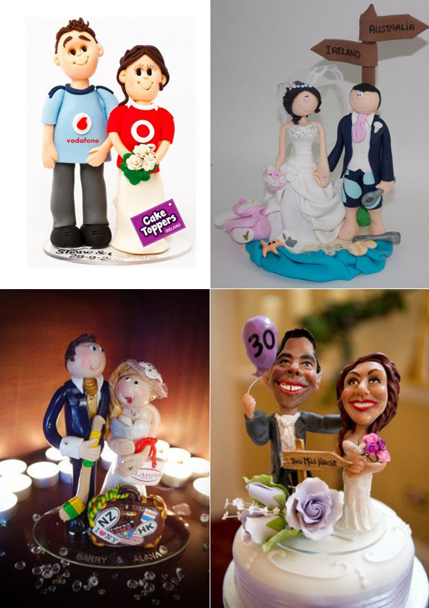 last minute wedding cake toppers 8 personalised wedding cake topper ideas weddingsonline 16721