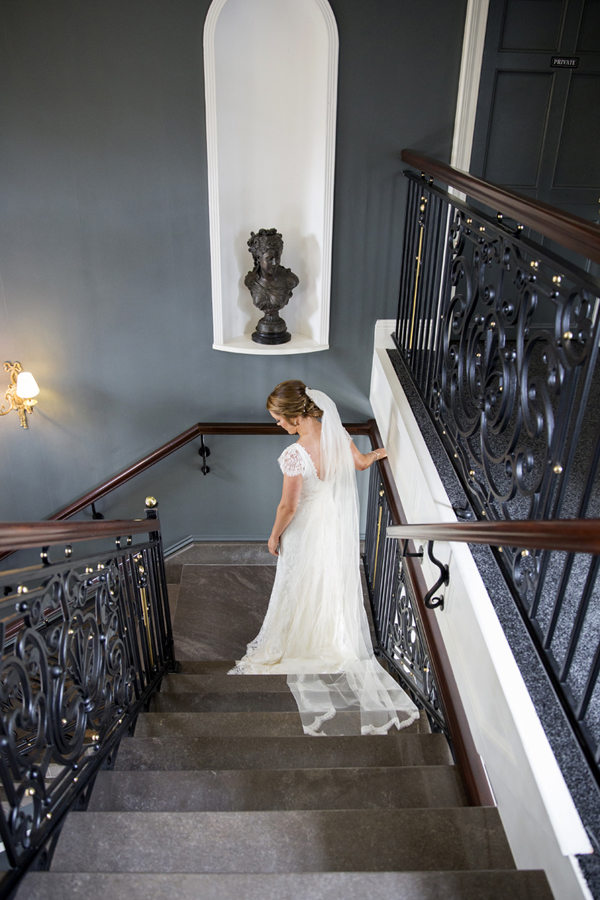 clonabreany house ireland bride stairs