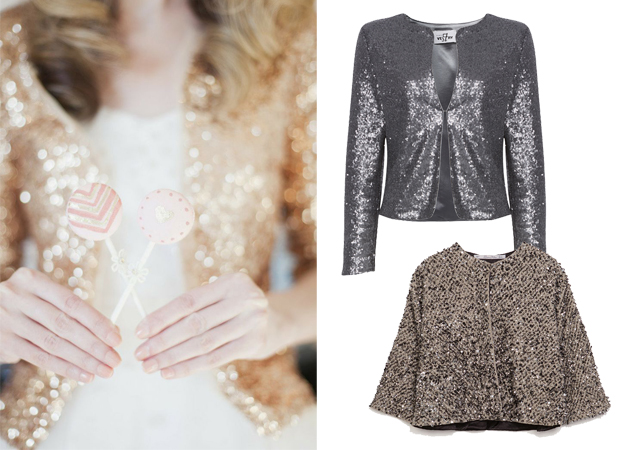 sequinned-cover-up-bride-wedding