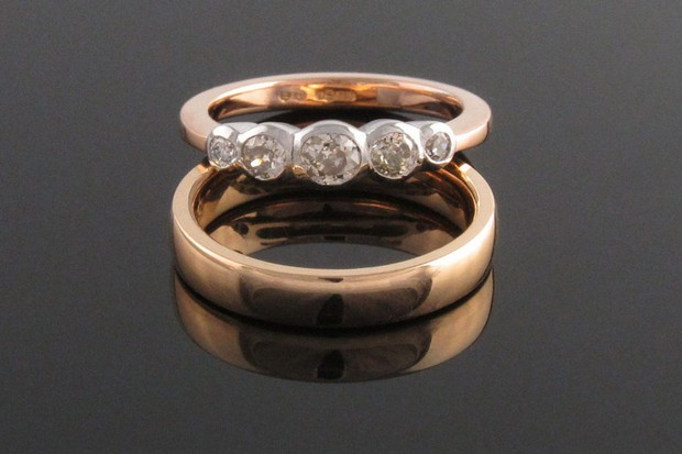 18ct-rose-and-white-gold-old-cut-diamond-5-stone-ring