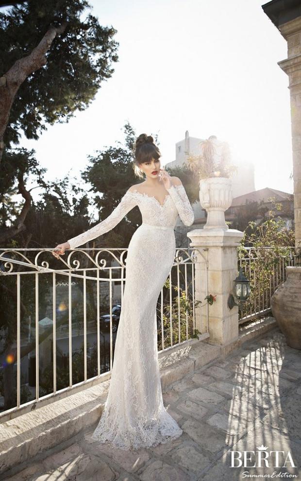 12 Oh So Lovely Long Sleeve Wedding Dresses | weddingsonline