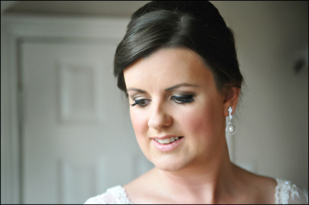 bride-make-up-trim-castle-wedding