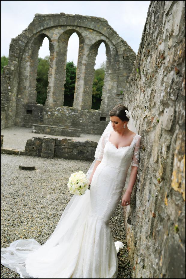 bride-wedding-dress-full-trim-castle
