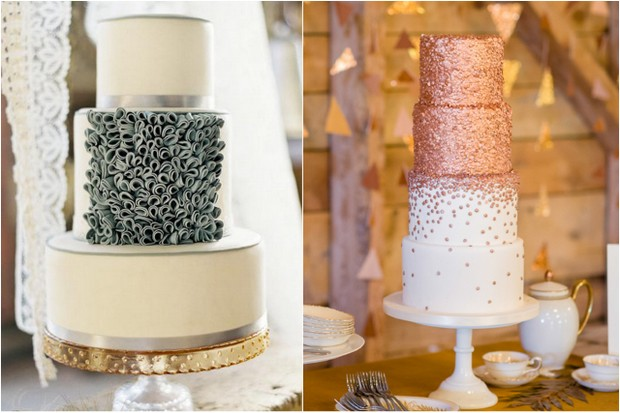 12 Sweet Wedding Cake Trends you'll Love in 2015 ...