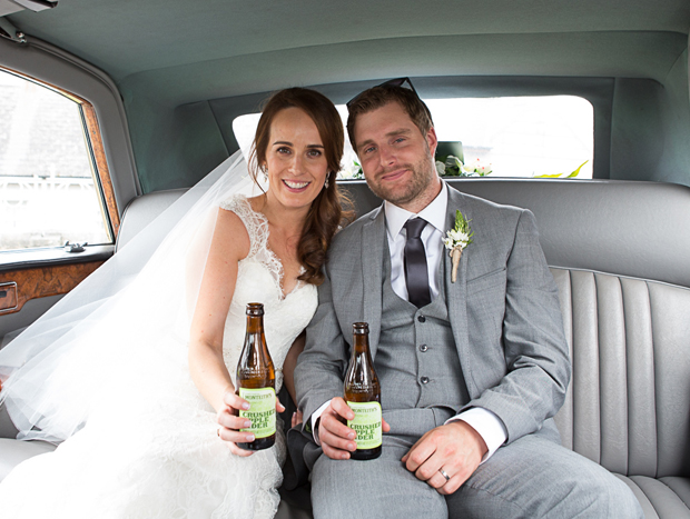 tara-john-wedding-getaway-car