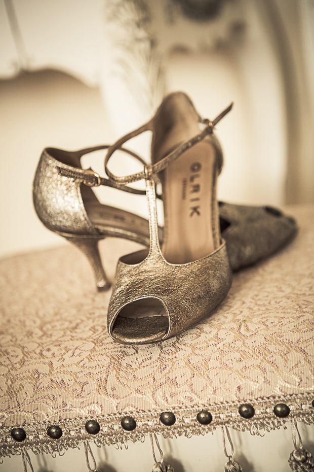 tara-john-wedding-gold-wedding-shoes-bride