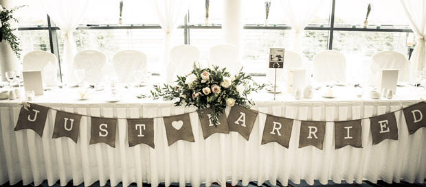 tara-john-wedding-just-married-banner-reception