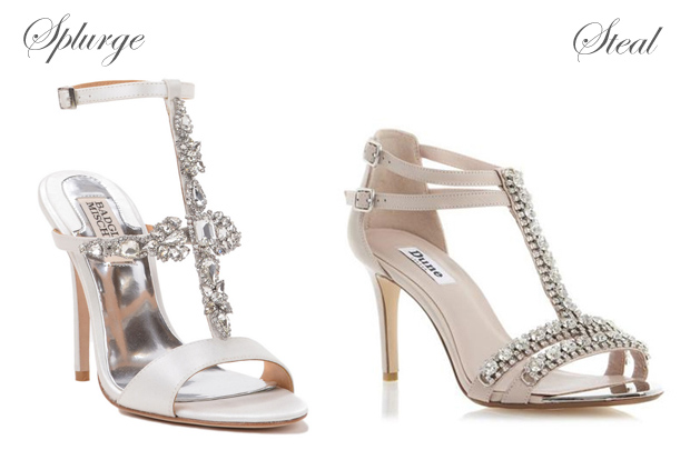 Wedding Shoes Diamante