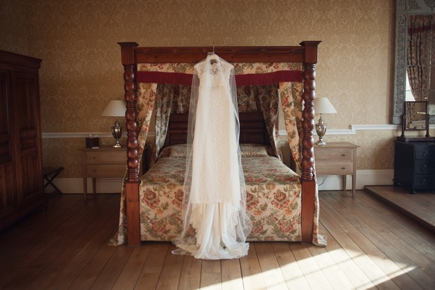 castle durrow bridal suite wedding