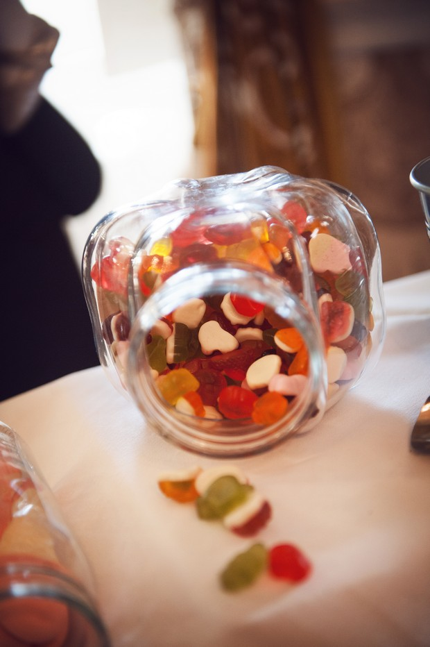 jellies wedding candy sweet table