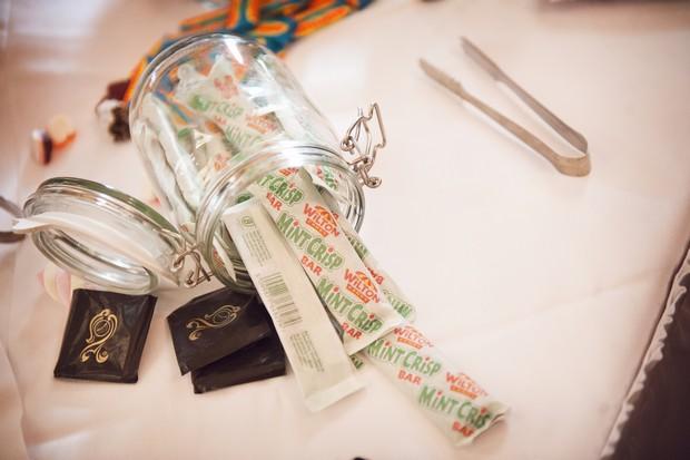 retro sweet table wedding mint crisp