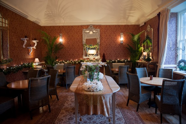 castle durrow hotel wedding reception room