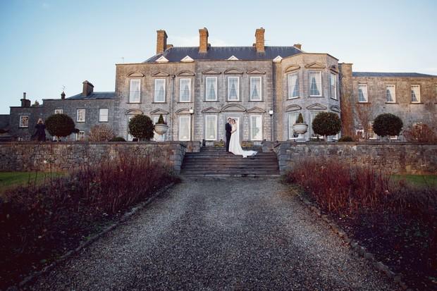 real wedding castle durrow laois ireland