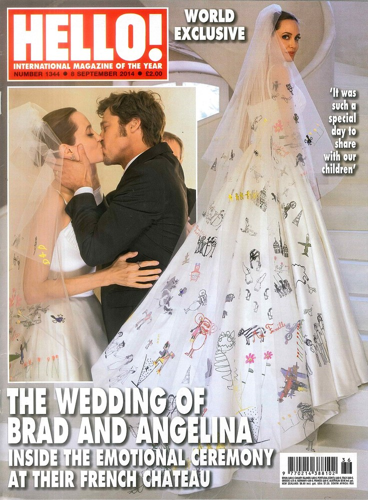 8 Most Stylish Celebrity Wedding Dresses from 2014 ...