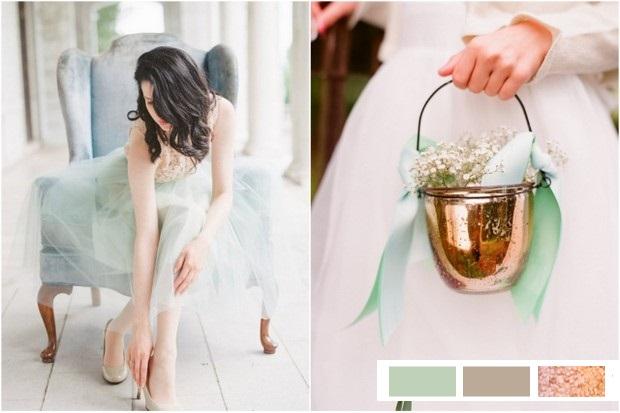 bronze-mint-grey-wedding-colour-palette