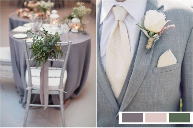 glacier_grey_peach_forest_Green_wedding_colour_palette