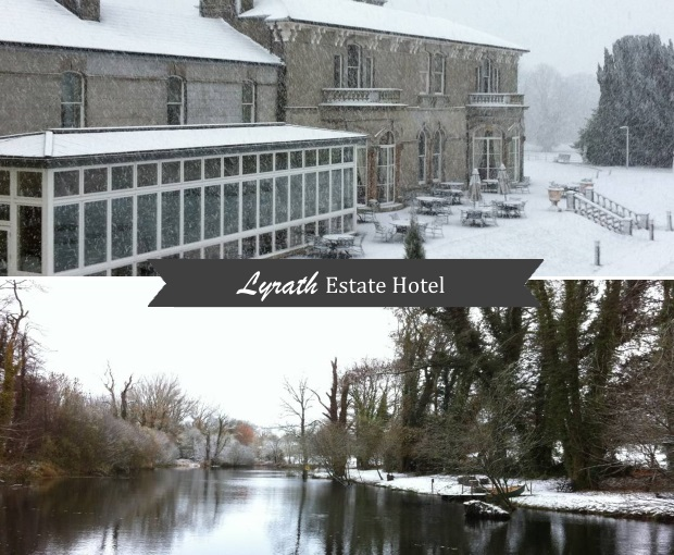 Lyrath Estate Winter Wedding Venue Snow Kilkenny 1