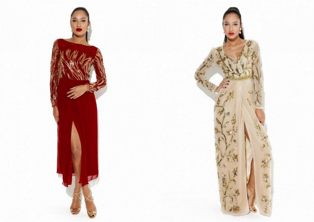 16 super stylish holiday season wedding guest dresses