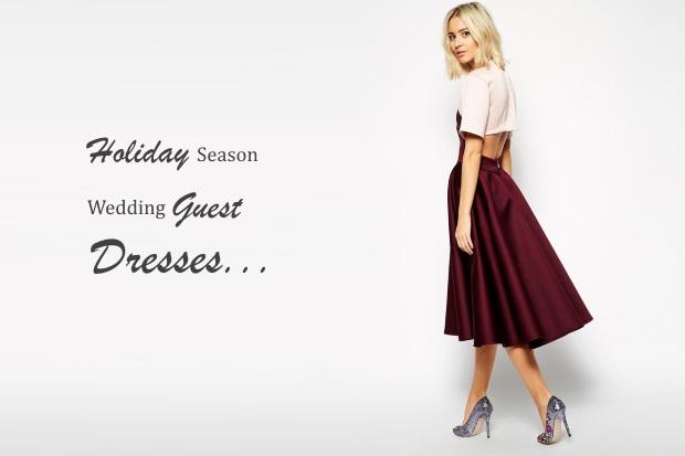 16 super stylish holiday season wedding guest dresses weddingsonline