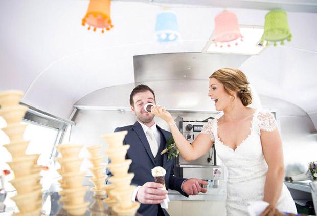 Summer Wedding Trends Ice Cream Van Real