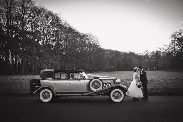 charlene-stephen-wedding-anglers-rest-vintage-car-bride-wellies