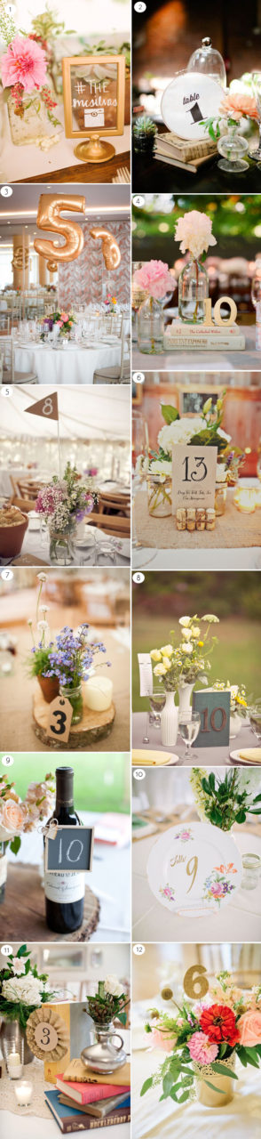 Wedding decor 12 fabulous ways to display your table for Creative ways to make a table