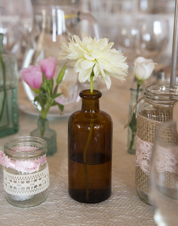daniel-marie-therese-real-wedding-lace-jam-jars-table-centrepieces