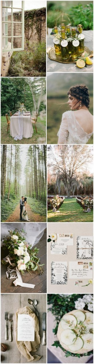 forest themed wedding ideas