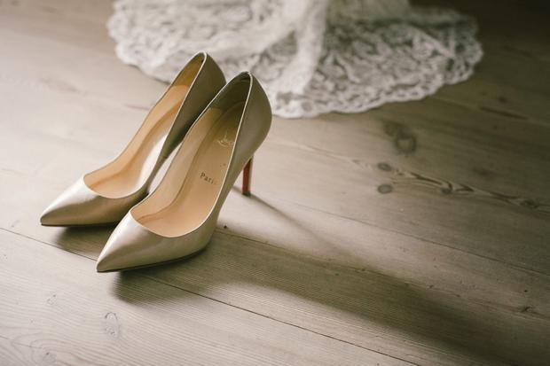 gold-christian-louboutin-wedding-shoes